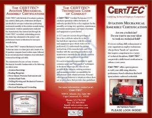 CertTEC Aviation Mechanical Assembly brochure-1